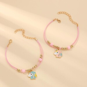 2-piece Sweet Children's Bracelet