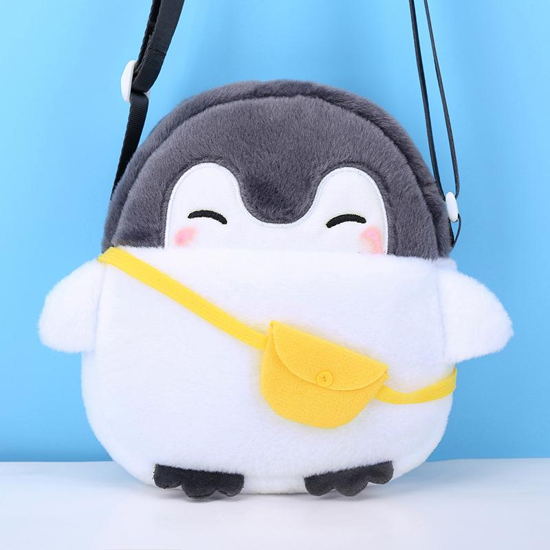 Penguin Pattern Crossbody Bag for 4-6 Years Old
