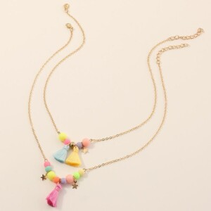 2-piece Cozy Personality Baby Jewelry Necklace