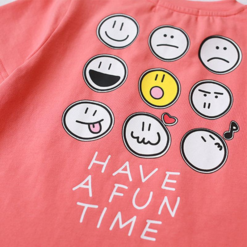 Cartoon Design T-shirt for Whole Family