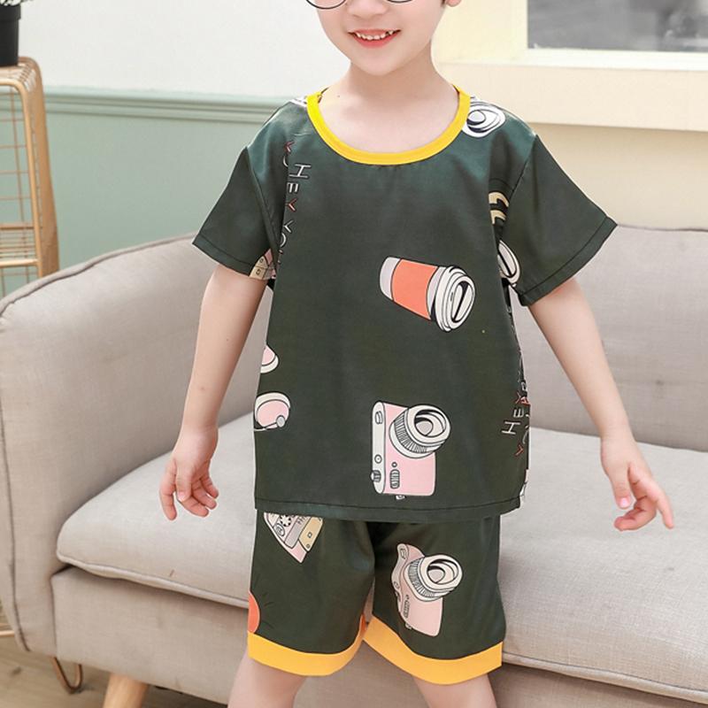 2-piece Cartoon Design Pajamas for Toddler Boy