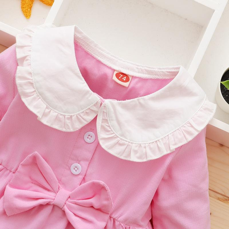 Bowknot Dress for Baby Girl
