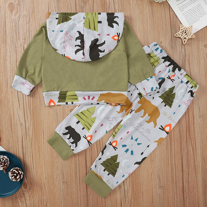 2-piece Hoodie & Pants for Baby Boy