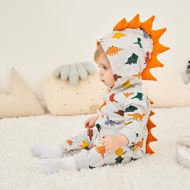 Dinosaur Print Jumpsuit