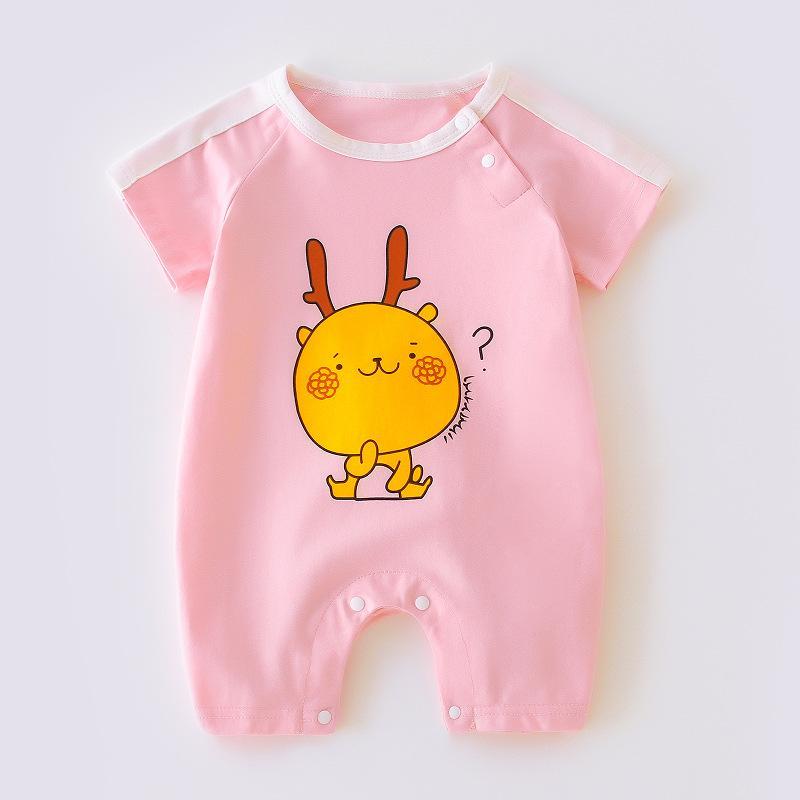 Cartoon Design Jumpsuit for Baby Girl