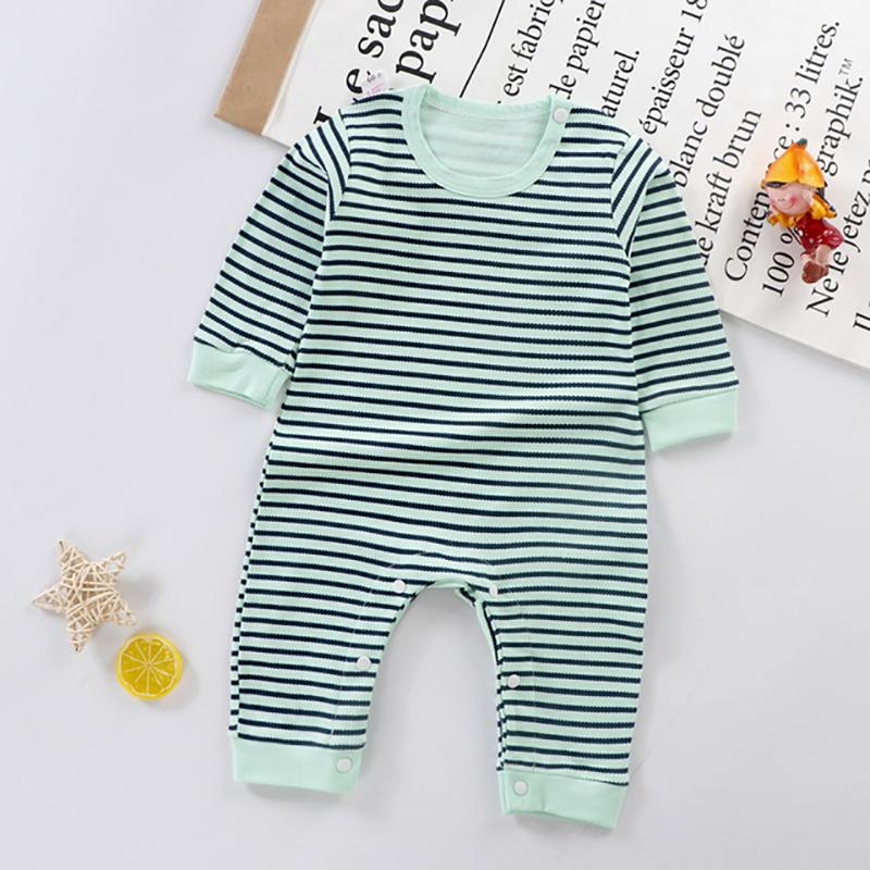 Color-block Pattern Jumpsuit for Baby