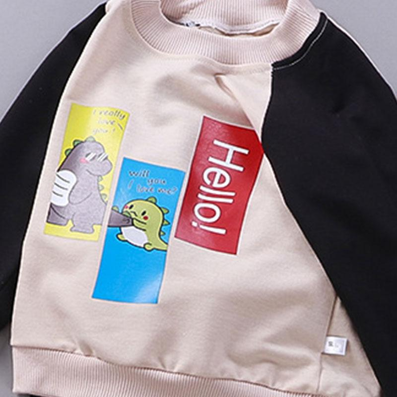 Color-block Animal Pattern Suit for Toddler Boy
