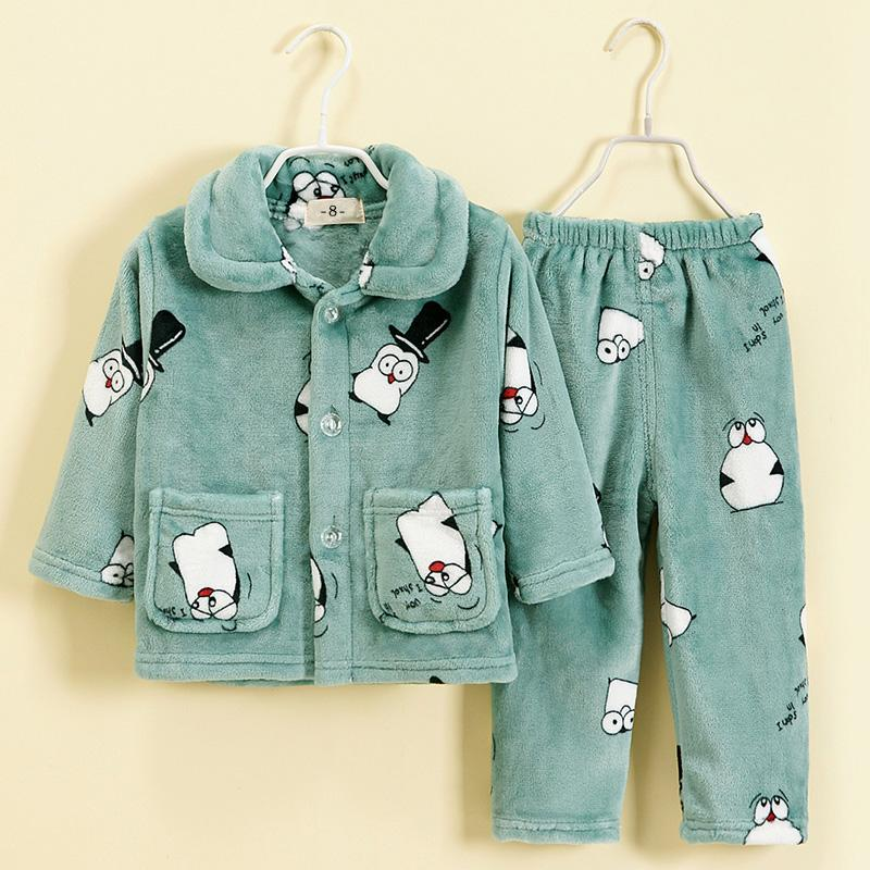 2-piece Cartoon Design Pajamas Sets for Boy