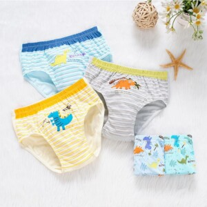 5-piece Cartoon Pattern Underwears for Toddler Boy