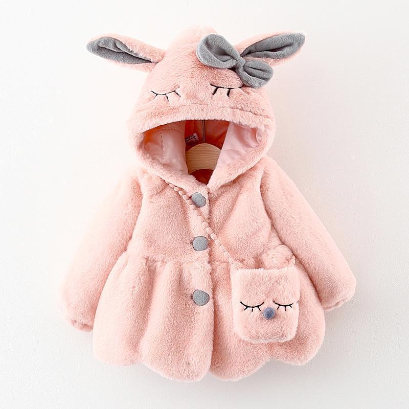 Rabbit Design Coat for Toddler Girl