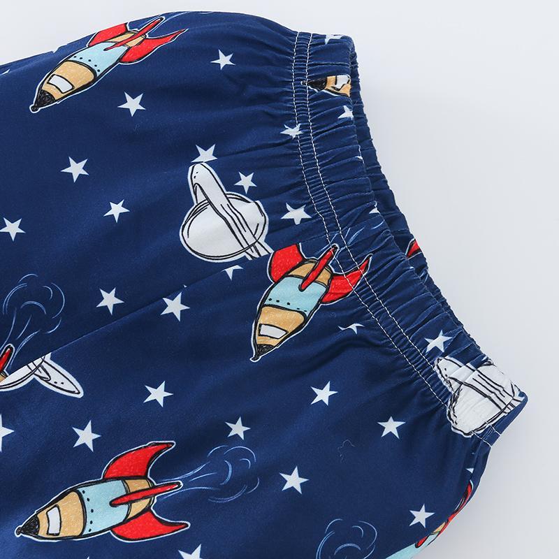 2-piece Galaxy Pattern Pajamas Sets for Baby Boy