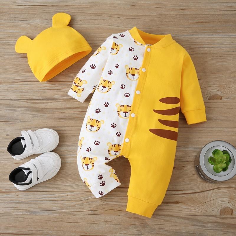 2-piece Jumpsuit & Hat for Baby