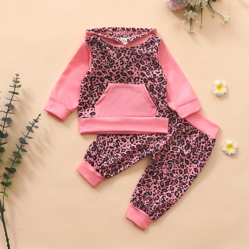 2-piece Leopard Suit for Baby Girl