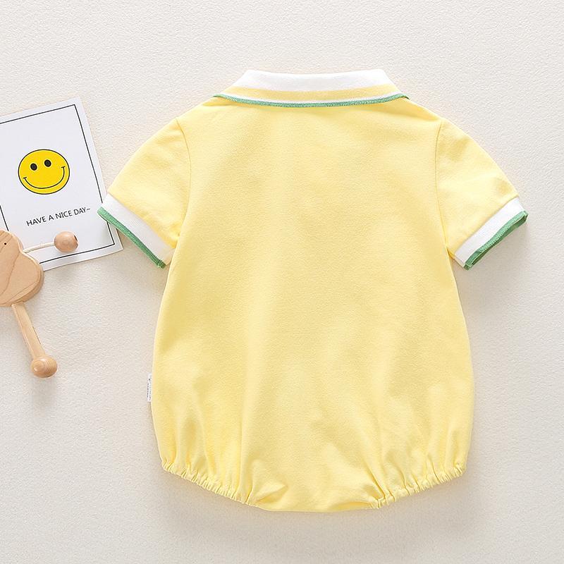Fruit Pattern Bodysuit for Baby Girl