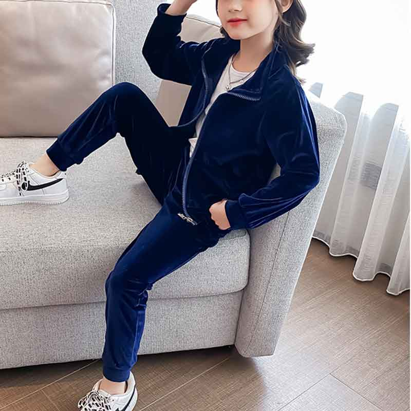 2-piece Crown Pattern Suit for Girl