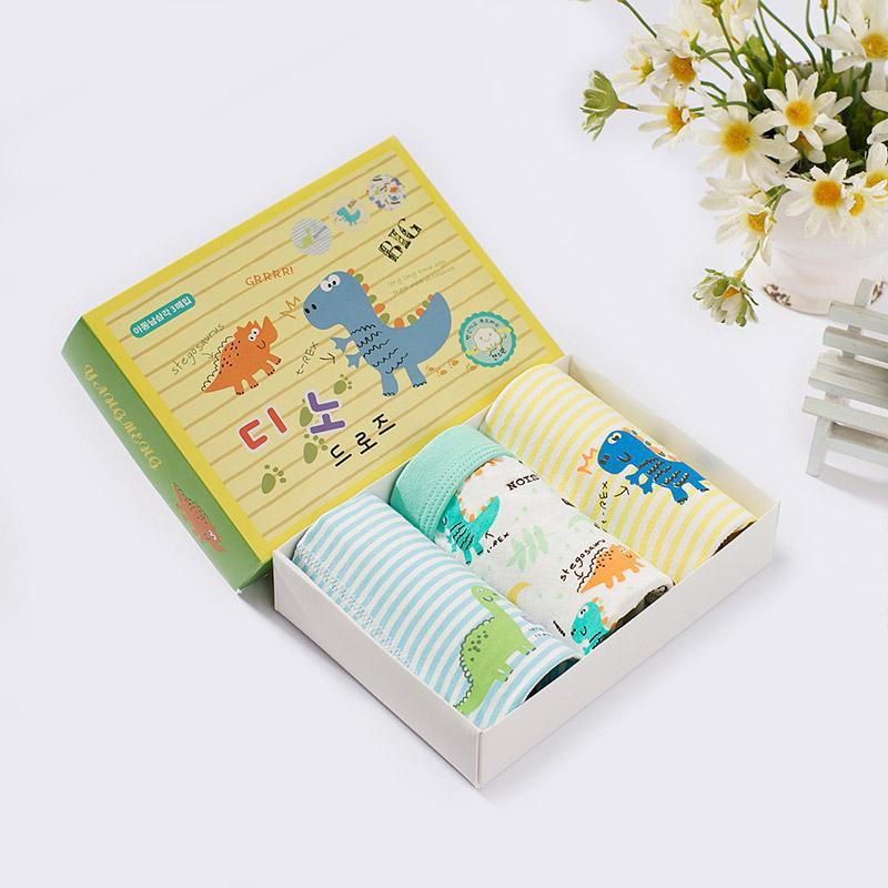 3-piece Cartoon Design Panties for Toddler Boy