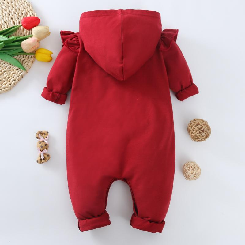 Red Rompers for Baby Girl