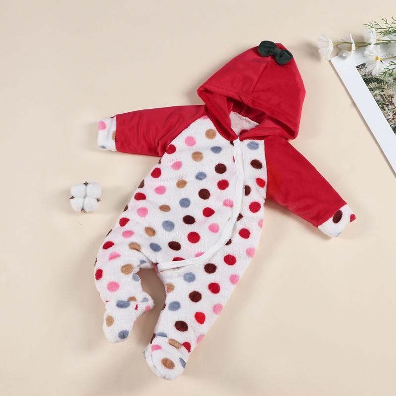 Polka Dot Jumpsuit for Baby Girl