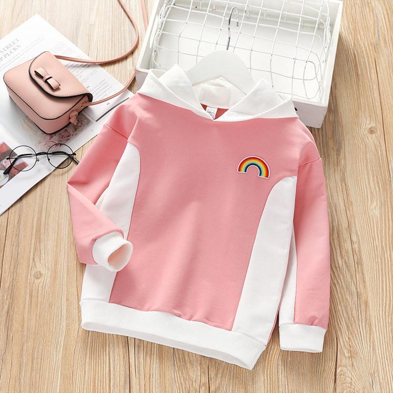 Color-block Sweatshirts for Toddler Girl