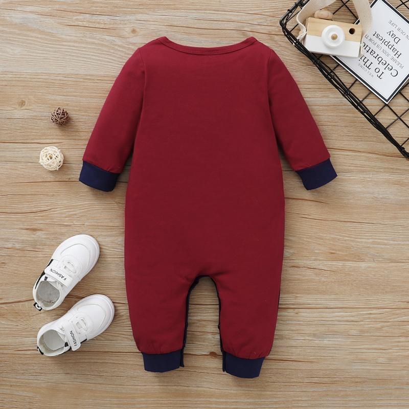 Color-block Jumpsuit for Baby Boy