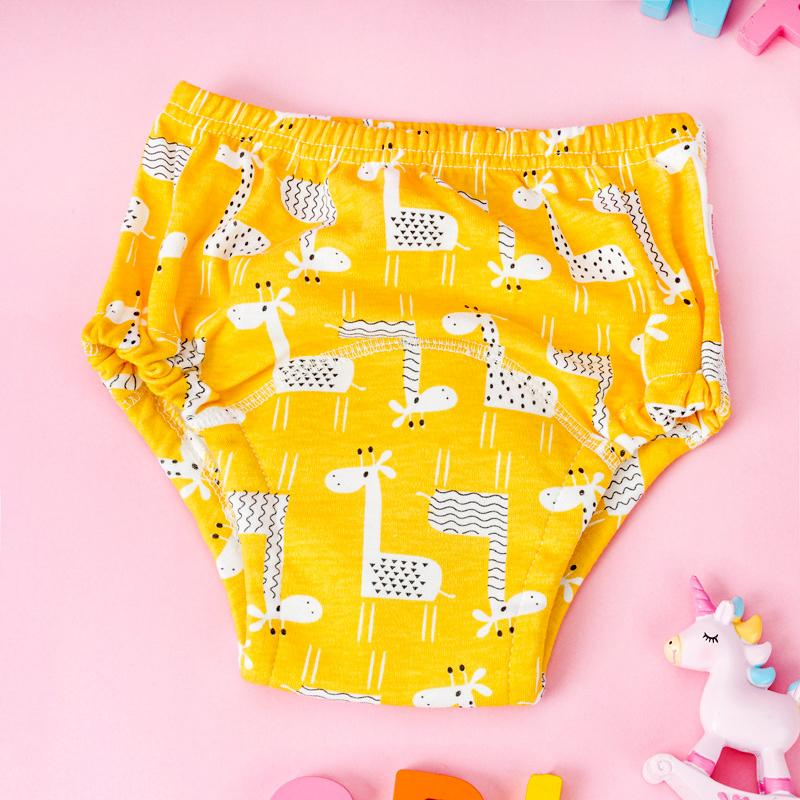 Potty Training Pants Baby Toilet Nappies Diapers Cotton Washable Night Nappy