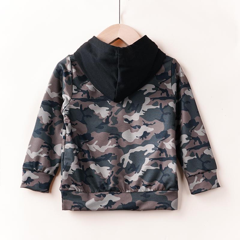 Camouflage Sweatshirts for Toddler Boy