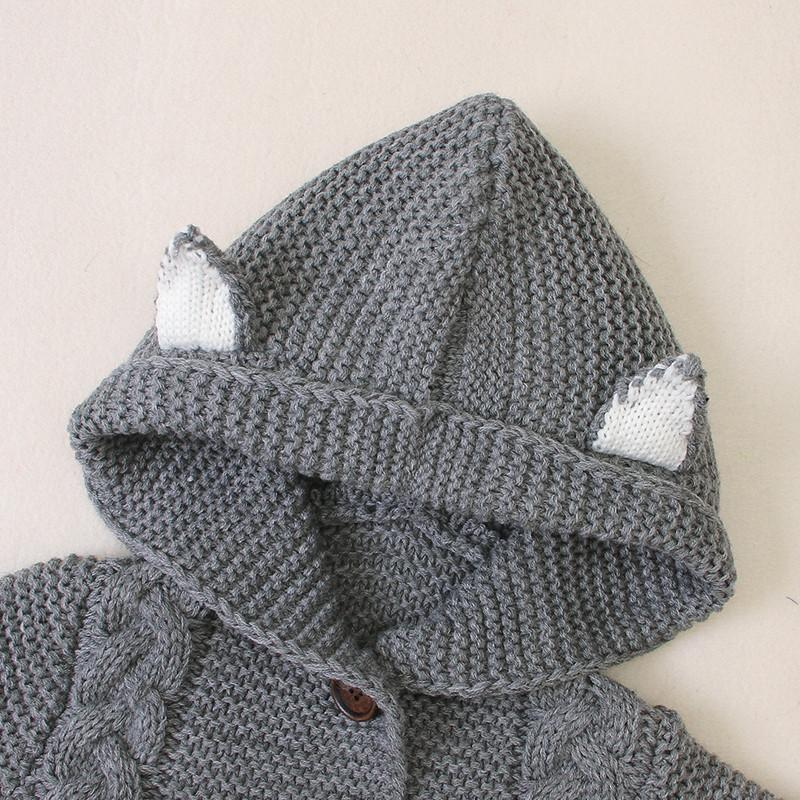 Hooded Solid Jumpsuit for Baby
