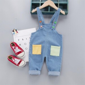 Denim Dungarees for Toddler