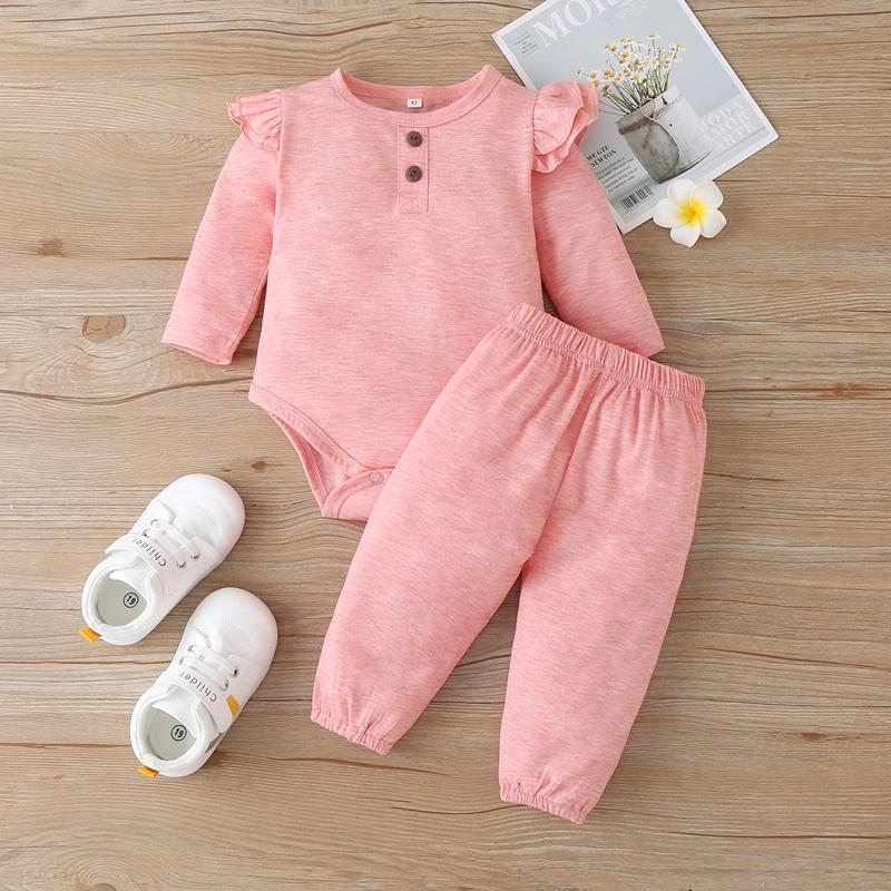 2-piece Romper & Pants for Baby Girl