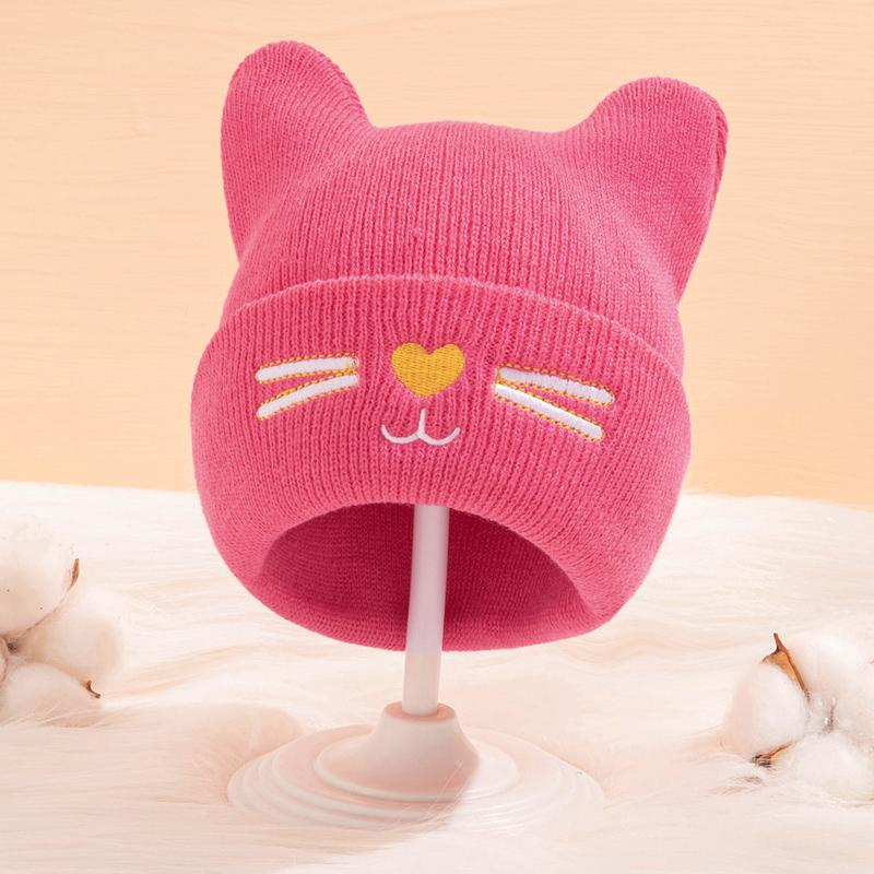 Lovely Woolen Hat for 0-3 Years Old Baby
