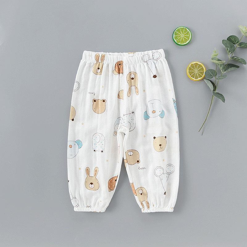 Cartoon Design Casual Pants for Toddler Girl