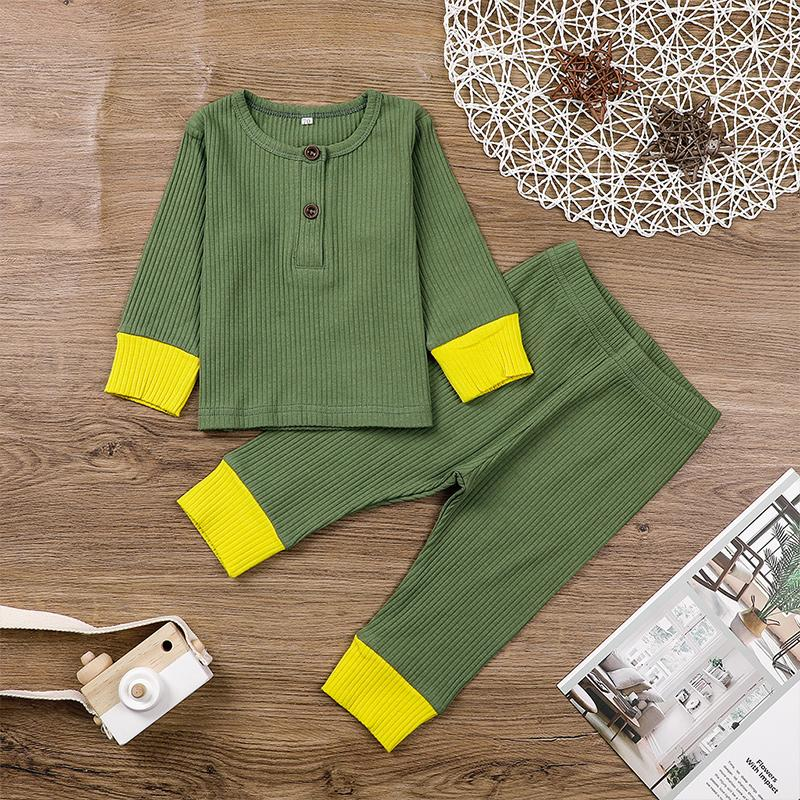 2-piece Top & Cropped Pants for Baby