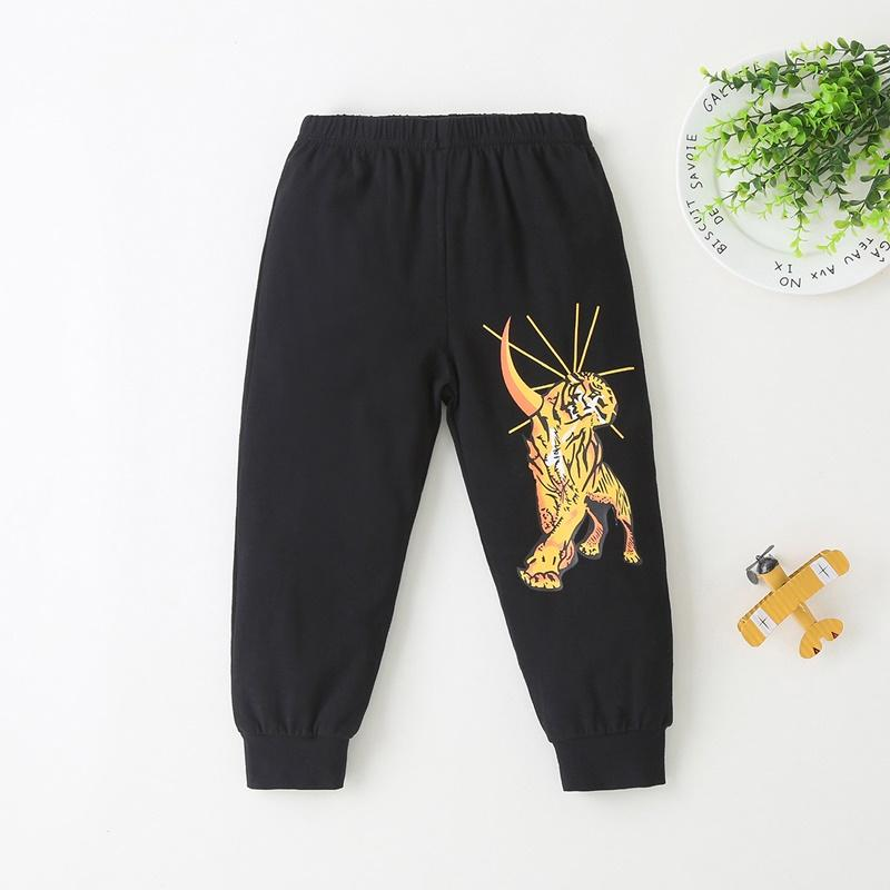 2-piece Tiger Pattern Suit for Toddler Boy