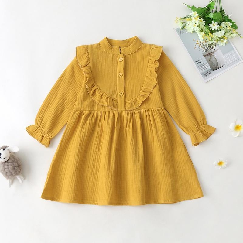 Long sleeve Sweet Dress for Toddler Girl
