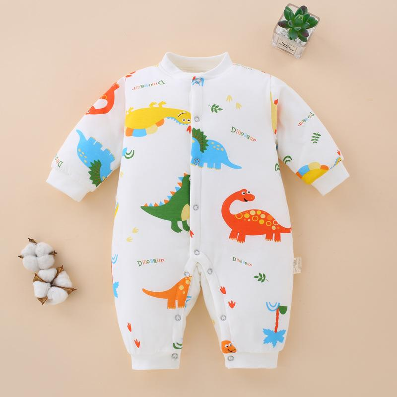 Floral Printed Jumpsuit for Baby