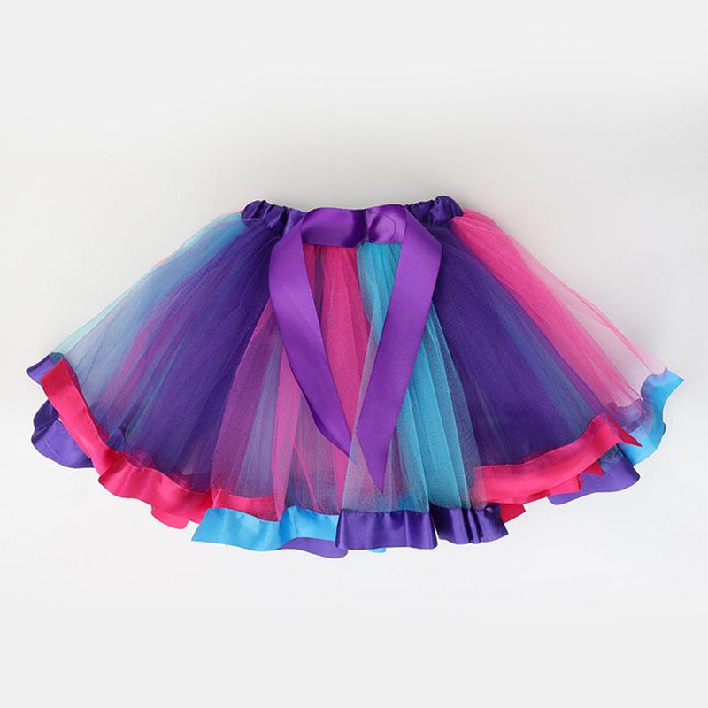 Color-block Tulle Skirt for Toddler Girl