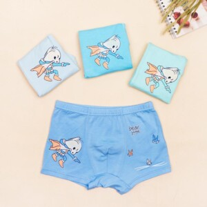 4-piece Animal Pattern Underwears for Toddler Boy