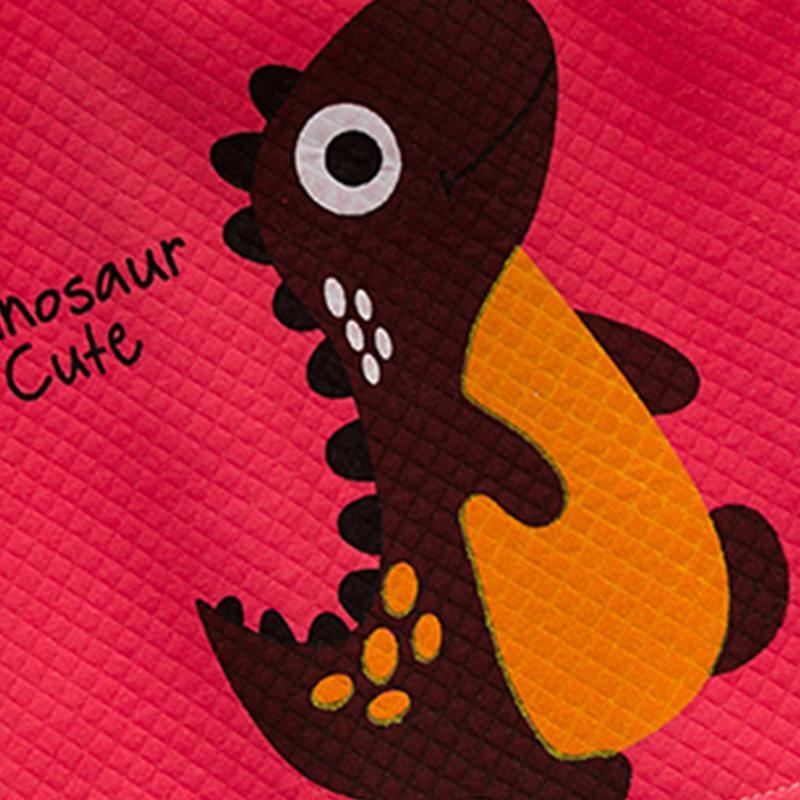 Dinosaur Pattern Gilet for Toddler Boy