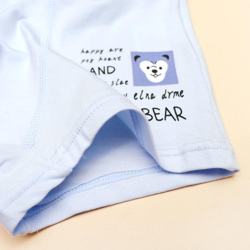 5-piece Bear Pattern Underwears for Toddler Boy