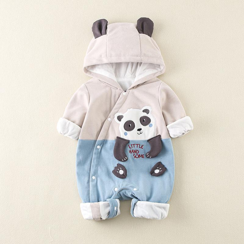 Panda Pattern Jumpsuit for Baby Boy