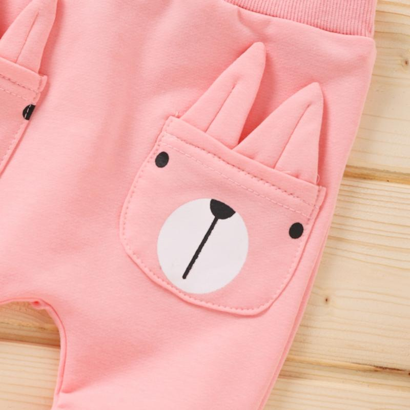 Animal Pattern Sports Pants for Baby