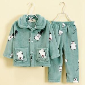 2-piece Cartoon Design Pajamas Sets for Boy