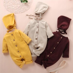 2-piece Jumpsuit & Hat for Baby