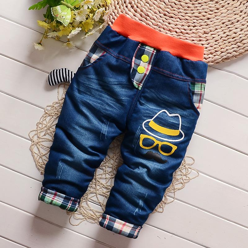 Extra Thick Jeans for Toddler Boy