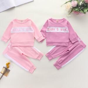 2-piece Sweatshirts & Pants for Baby Girl
