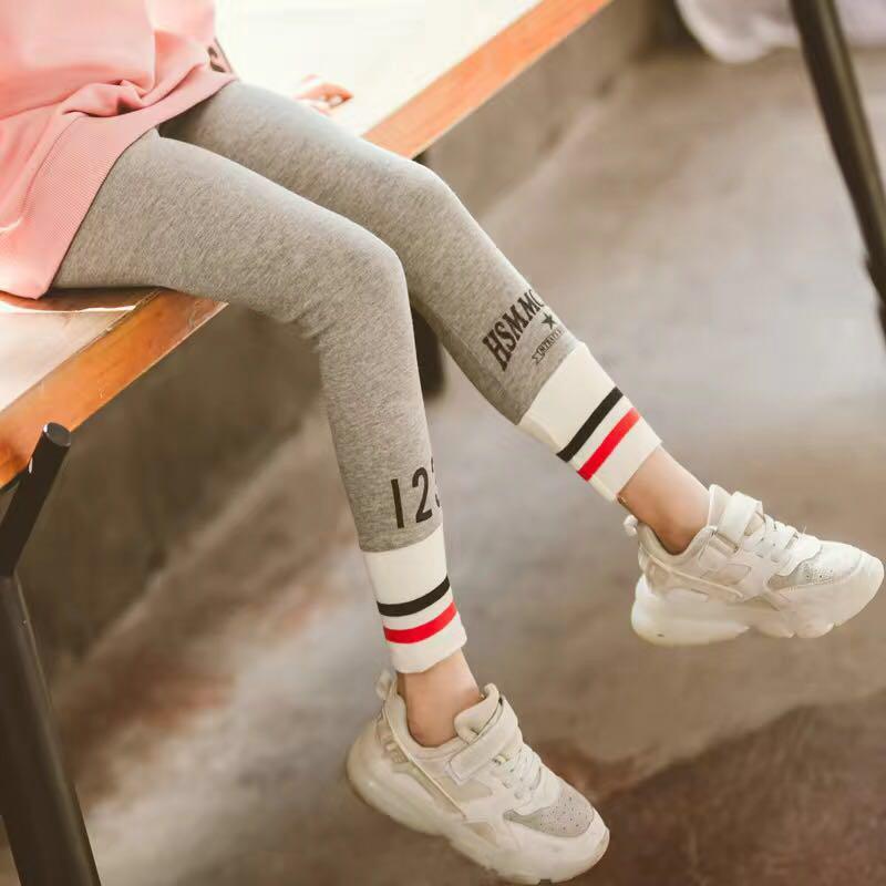 Stripes Boot Pants for Girl