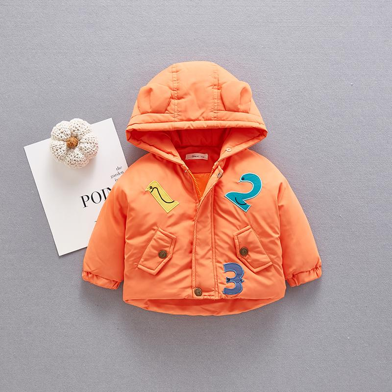 Extra Thick Puffer Jacket for Baby