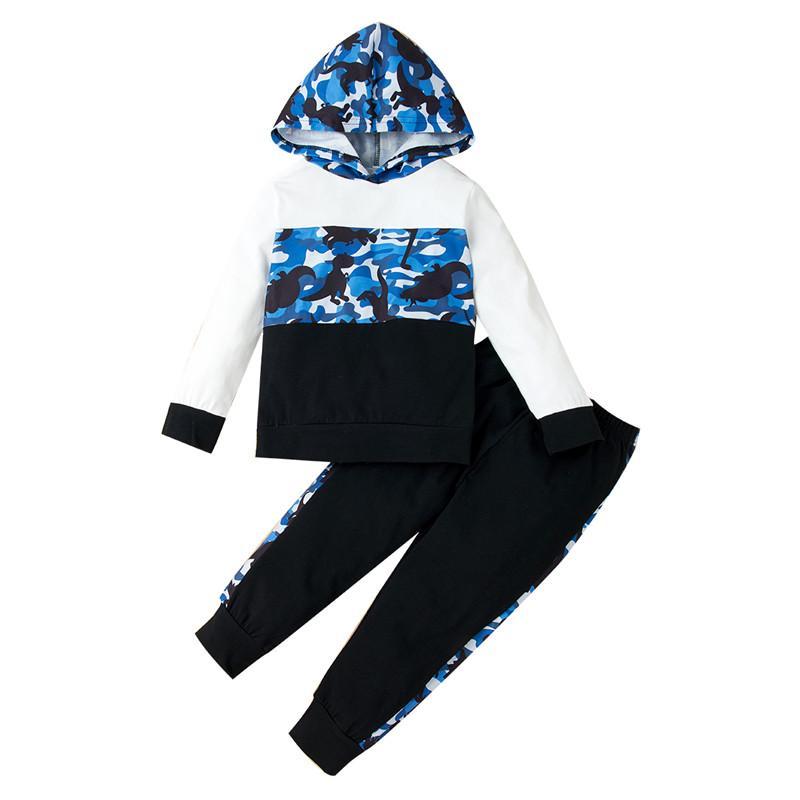 2-piece Dinosaur Pattern Suit for Toddler Girl