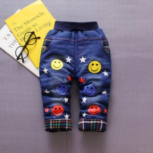 Fleece-lined Jeans for Toddler