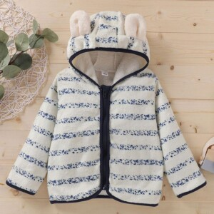 Fleece-lined Coat for Baby Boy